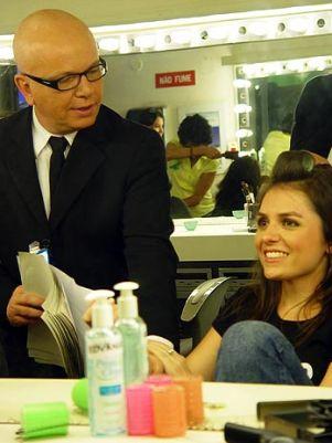 """Mônica Iozzi se prepara para o primeiro dia de trabalho como repórter do """"CQC"""""""